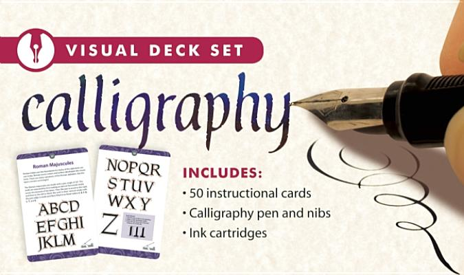 Calligraphy Visual Deck Set By Thunder Bay (EDT)